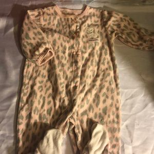 Carters baby girl footed pajama sleeper